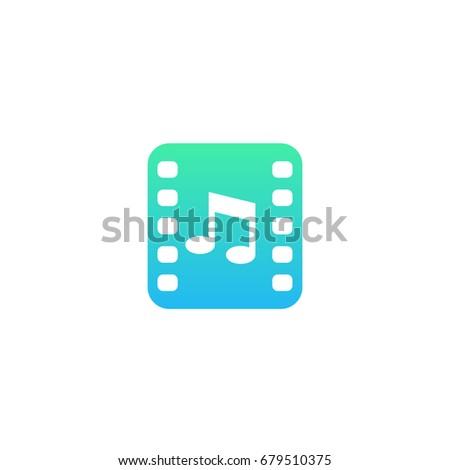 multimedia vector icon