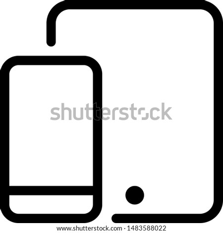 Multiple size phone screen and devices layout