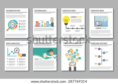 Free business powerpoint templates pack 01 download free vector multipurpose presentation template flat design brochure flyer report magazine set toneelgroepblik Image collections