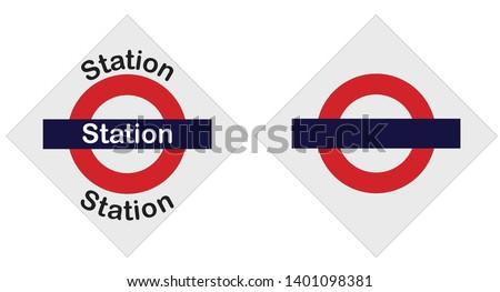 Mumbai Station Local signboard