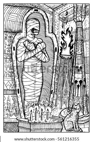mummy egyptian mythological