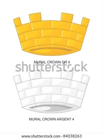 mural crown 4 merlons