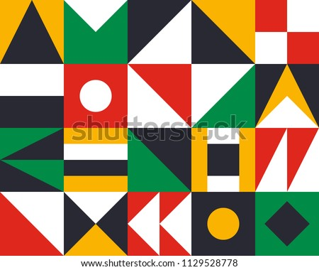 Mural geometric backgrounds with trendy design. Applicable for Covers, Voucher, Posters, Flyers and Banner Designs.