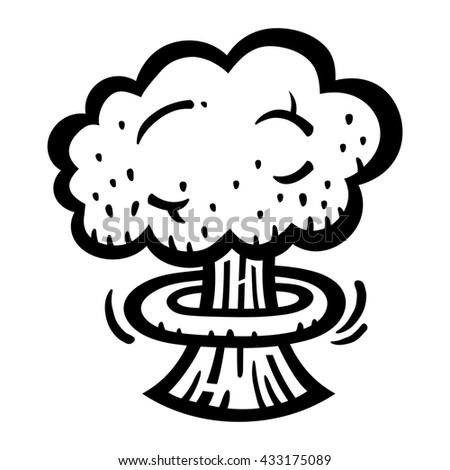 mushroom cloud atomic nuclear