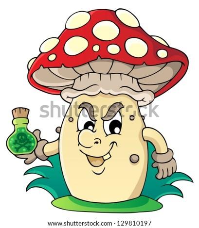 Mushroom theme image 5 - vector illustration.