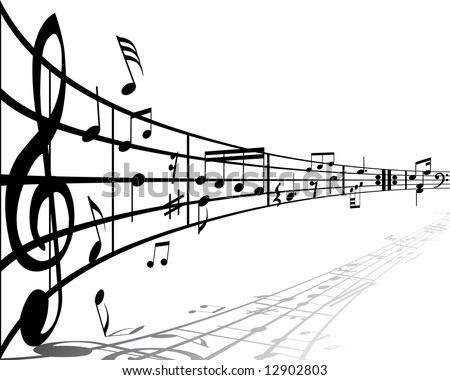 music notes wallpaper. music notes wallpaper