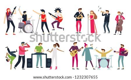 music band jazz blues  punk