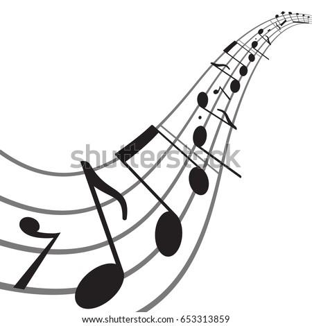 music banner musical