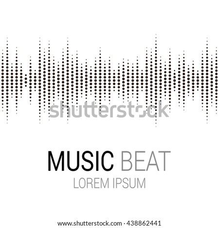 music beat abstract audio