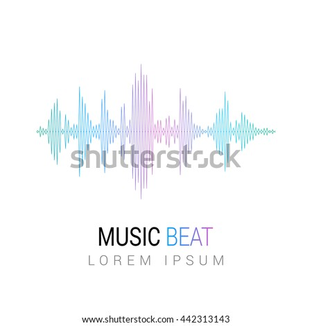 music beat abstract equalizer