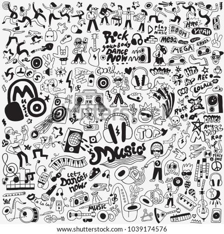 music big doodle set