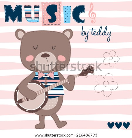 music by teddy with guitar