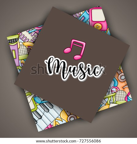 music concept musical