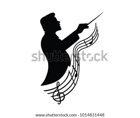Music Conductor in Symphony Orchestra