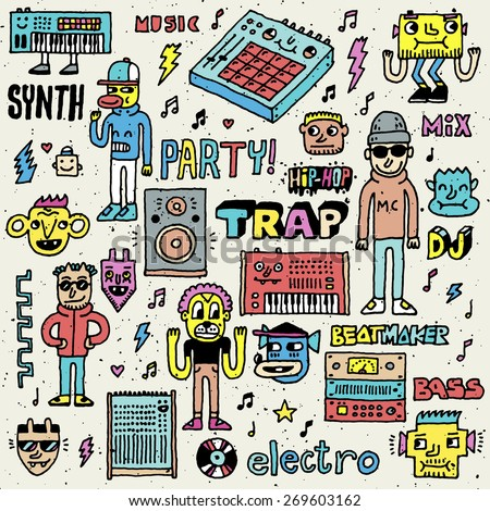 music electronic style funny