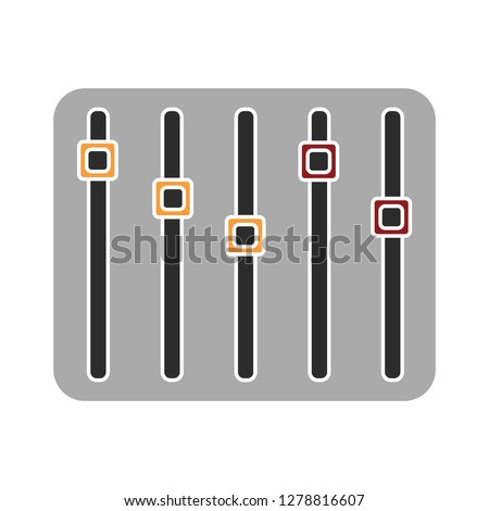 music equalizer icon-frequency vector-audio isolated-volume symbol-announcement illustration-music vector-disco abstract