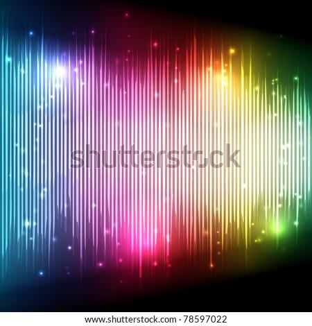 music equalizer wave   eps10