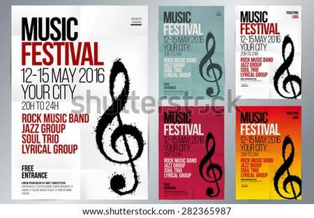 music event design suitable