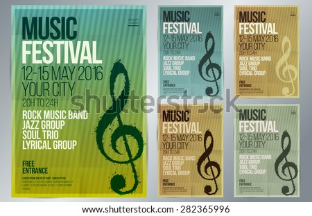 Concert poster vector download free vector art stock graphics music event design suitable for poster promotional flyer invitation banner or magazine stopboris Gallery