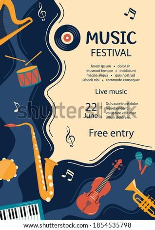 music festival invitation