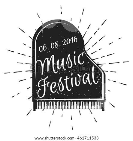 music festival musical