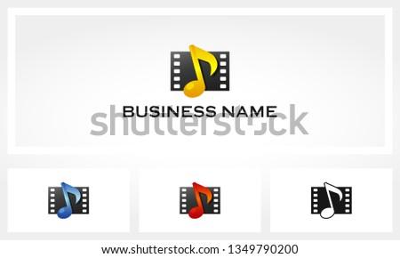 Music Filmstrip Logo