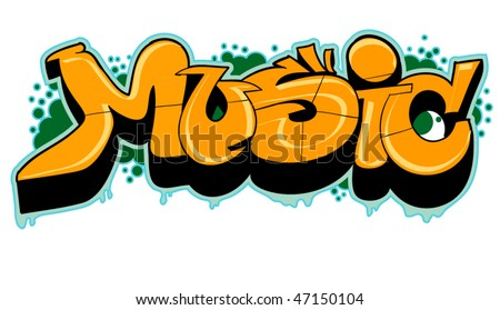 music graffiti