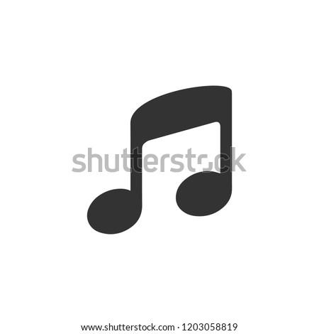 Music. Icon Flat