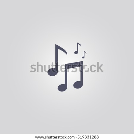 music icon or musical sign