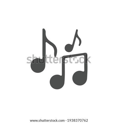 music icon vector design element logo template Photo stock ©