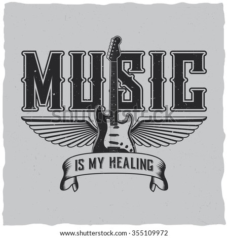 music is my healing label