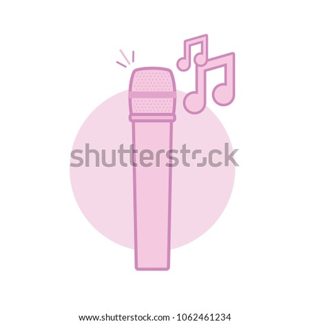 music microphone icon symbol