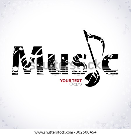 music musical background with