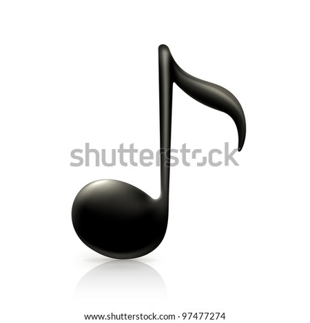 Music Note, vector