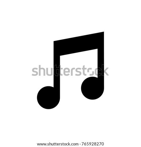 stock-vector-music-note-vector-icon