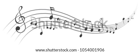 music notes background  musical