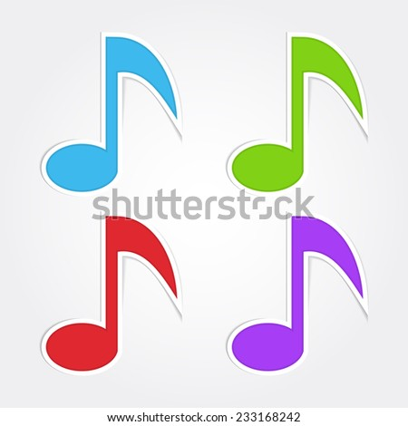 royalty free set of 3d colorful music notes 115025758 stock photo rh avopix com Music Notes Background Music Notes