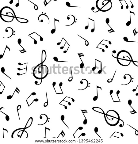 music notes  group musical