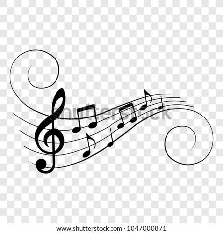 music notes  musical design