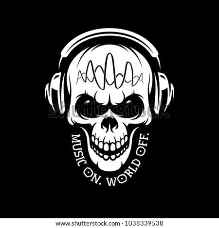 music on world off skull in