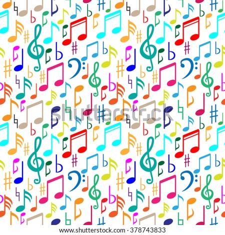 music patternmusic note