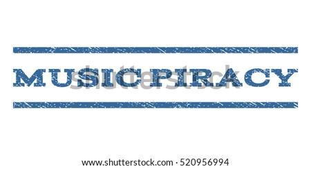 music piracy watermark stamp