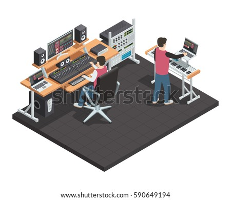 music production studio room