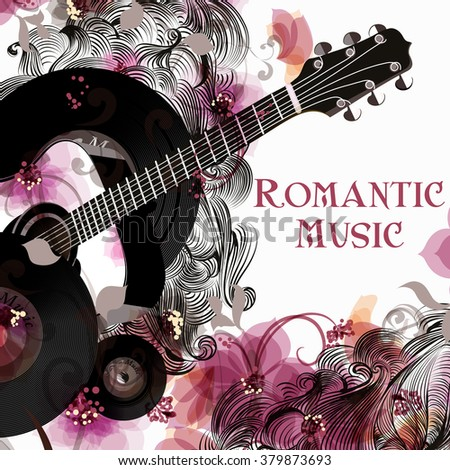music romantic background with