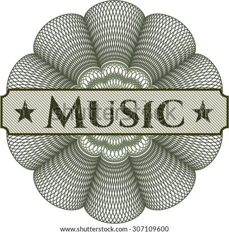 Music rosette