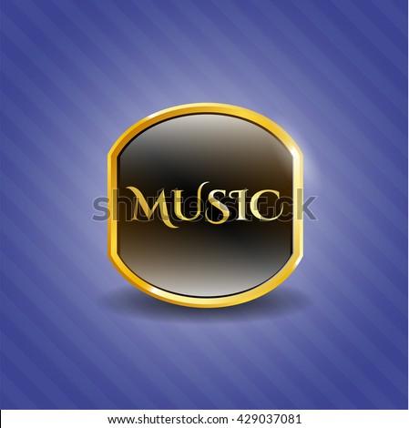 Music shiny badge