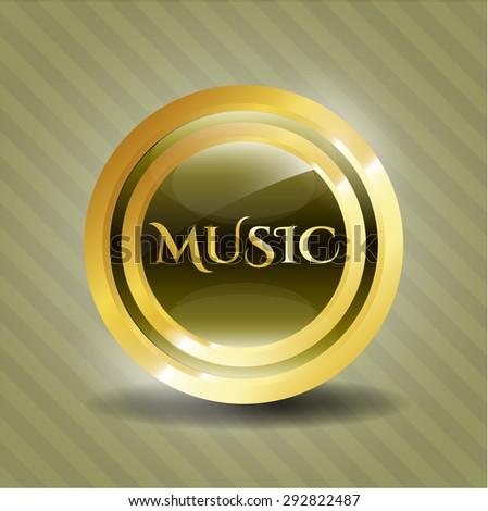 Music shiny emblem