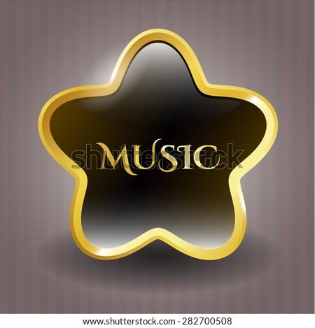 Music shiny star