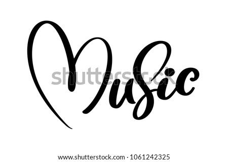 music sign icon heart karaoke