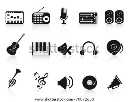 music sound equipment icon